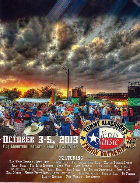 2013 TAFG program cover