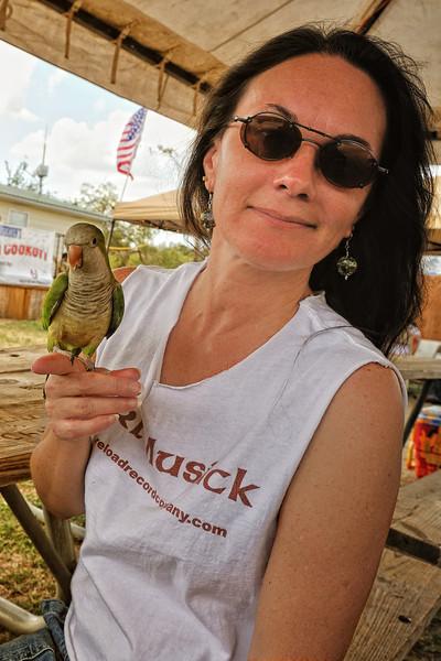 Ozzie (the bird) was some kinda dancer
