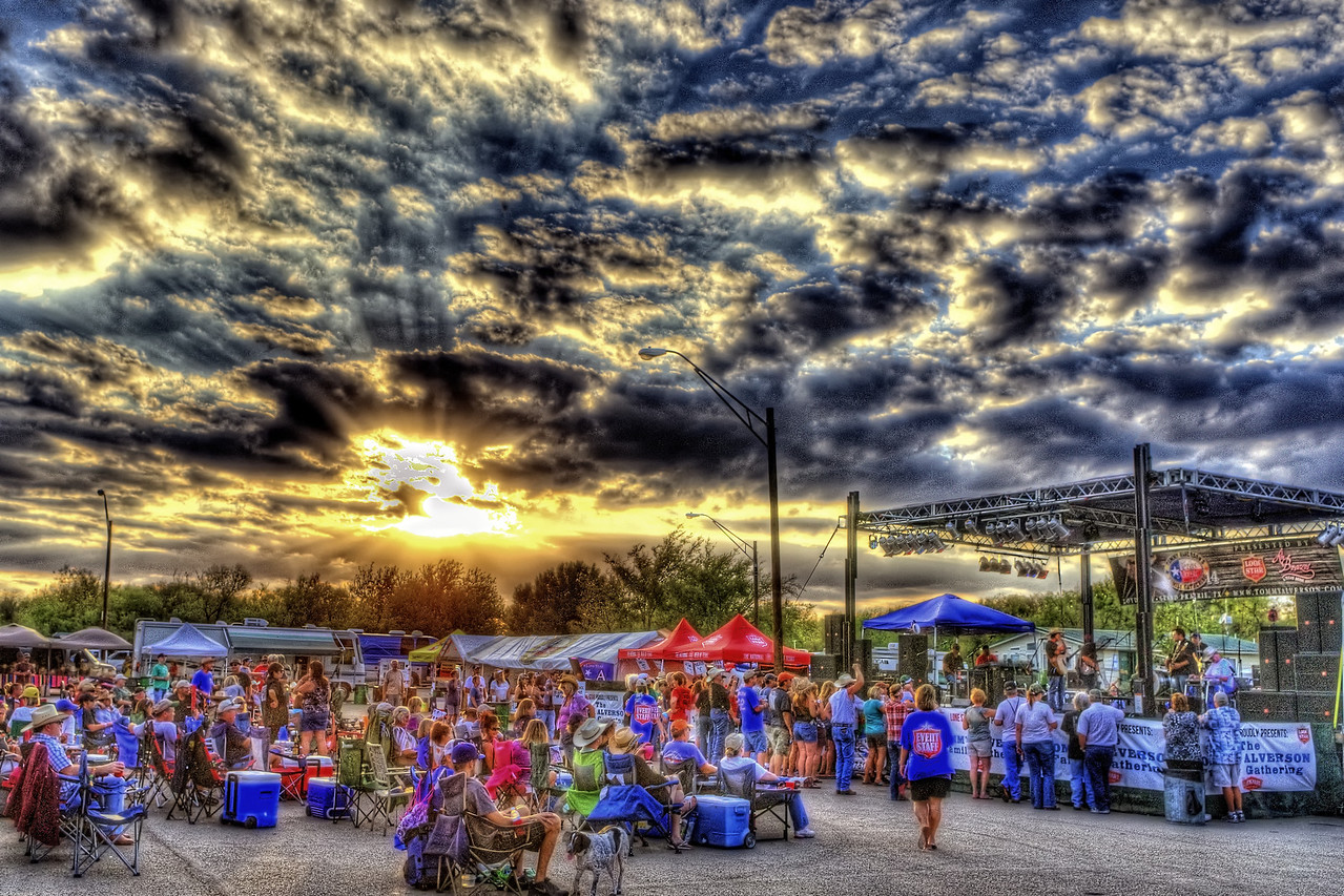 Tommy Alverson's Family Gathering