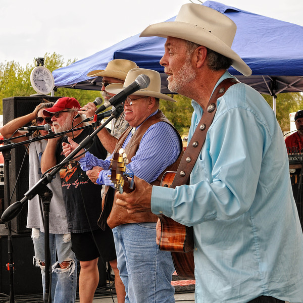 (r to l) Michael Hearne, Bill Hearne, Mike Blakely, Tommy Alverson, Jimmy Davis