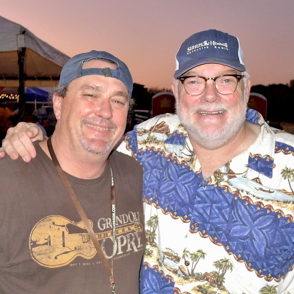 Rob Crawford and Dallas Wayne