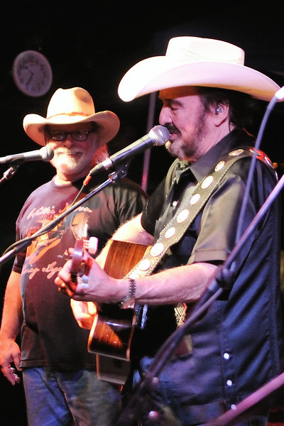 Tommy Alverson, Johnny Bush