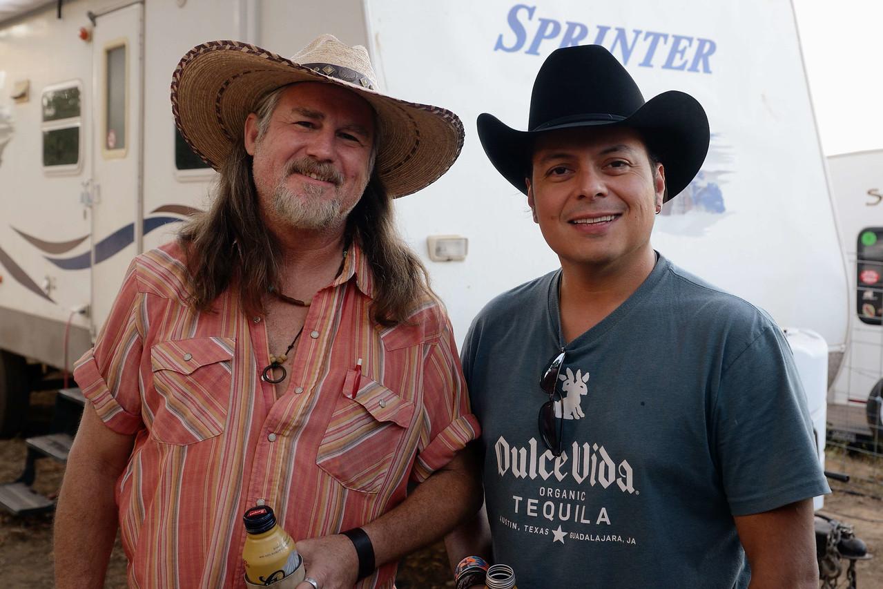 Catfish Charlie and Ray Rodriguez