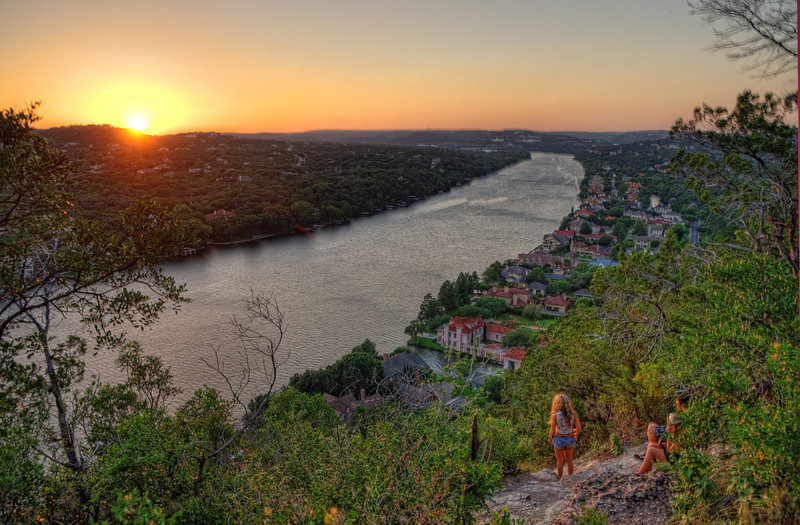 Sunset on Lake Austin