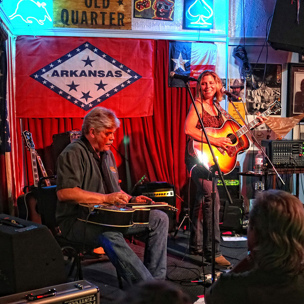 Lloyd Maines & Terri Hendrix, the Old Quarter, Galveston