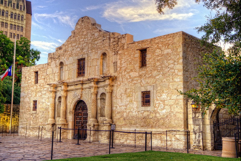 You remember the Alamo!