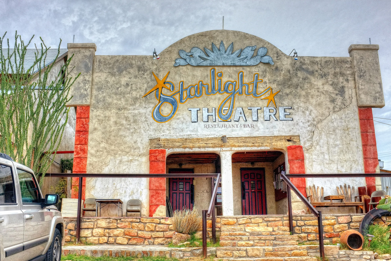 The Starlight Theatre, Terlingua, Texas
