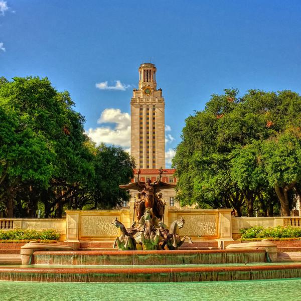 Littlefield Fountain, the University of Texas at Austin