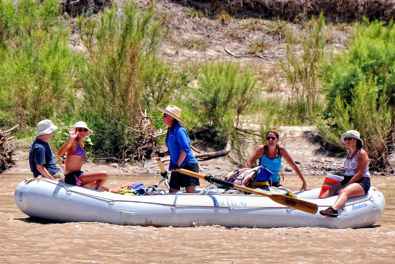Rio Grande rafters