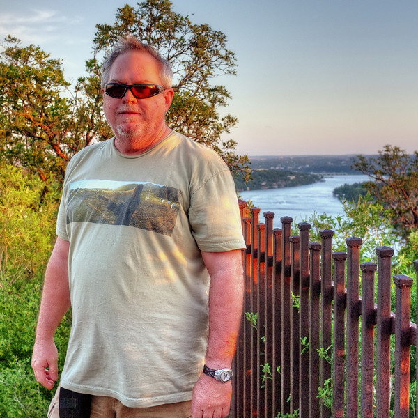at Mount Bonnell, Austin