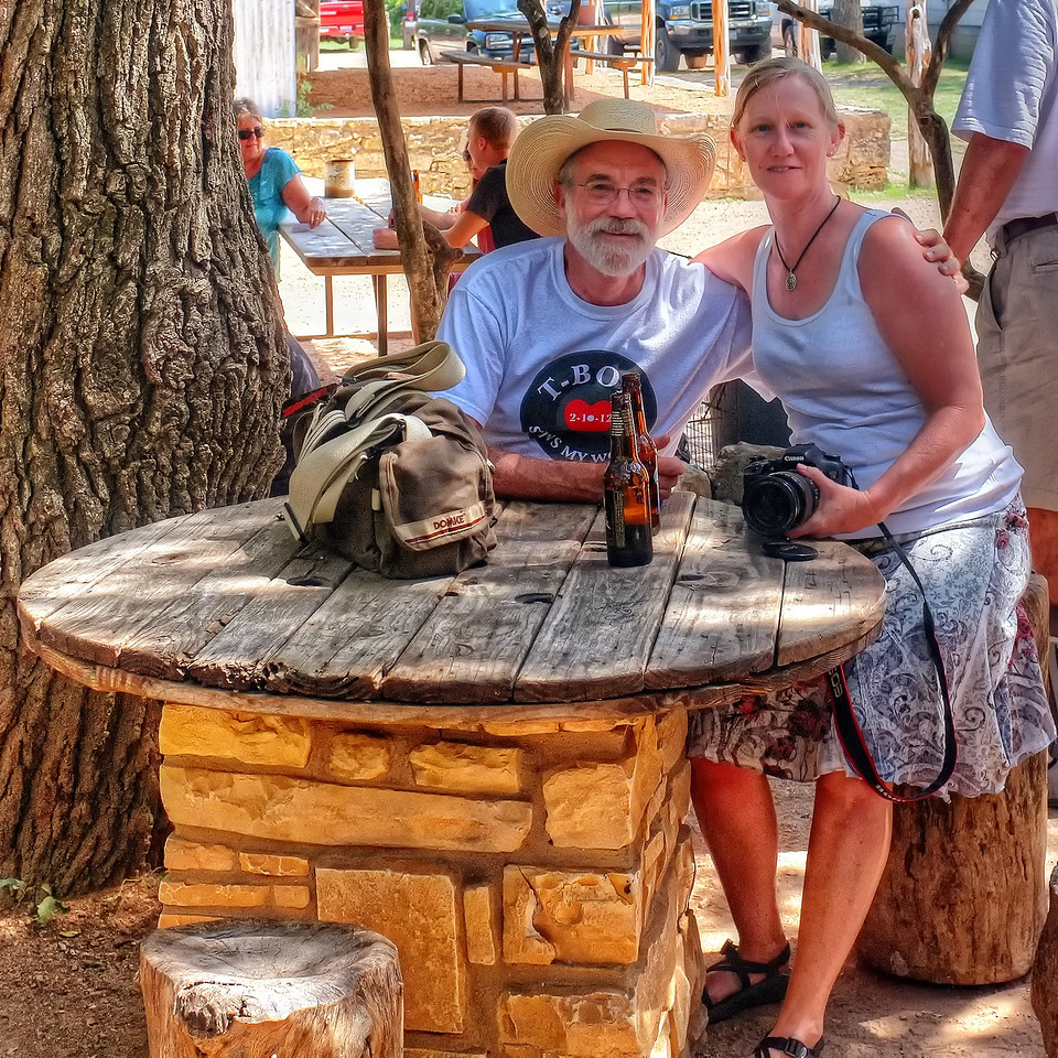 Don and Robbyn Dodd, Luckenbach