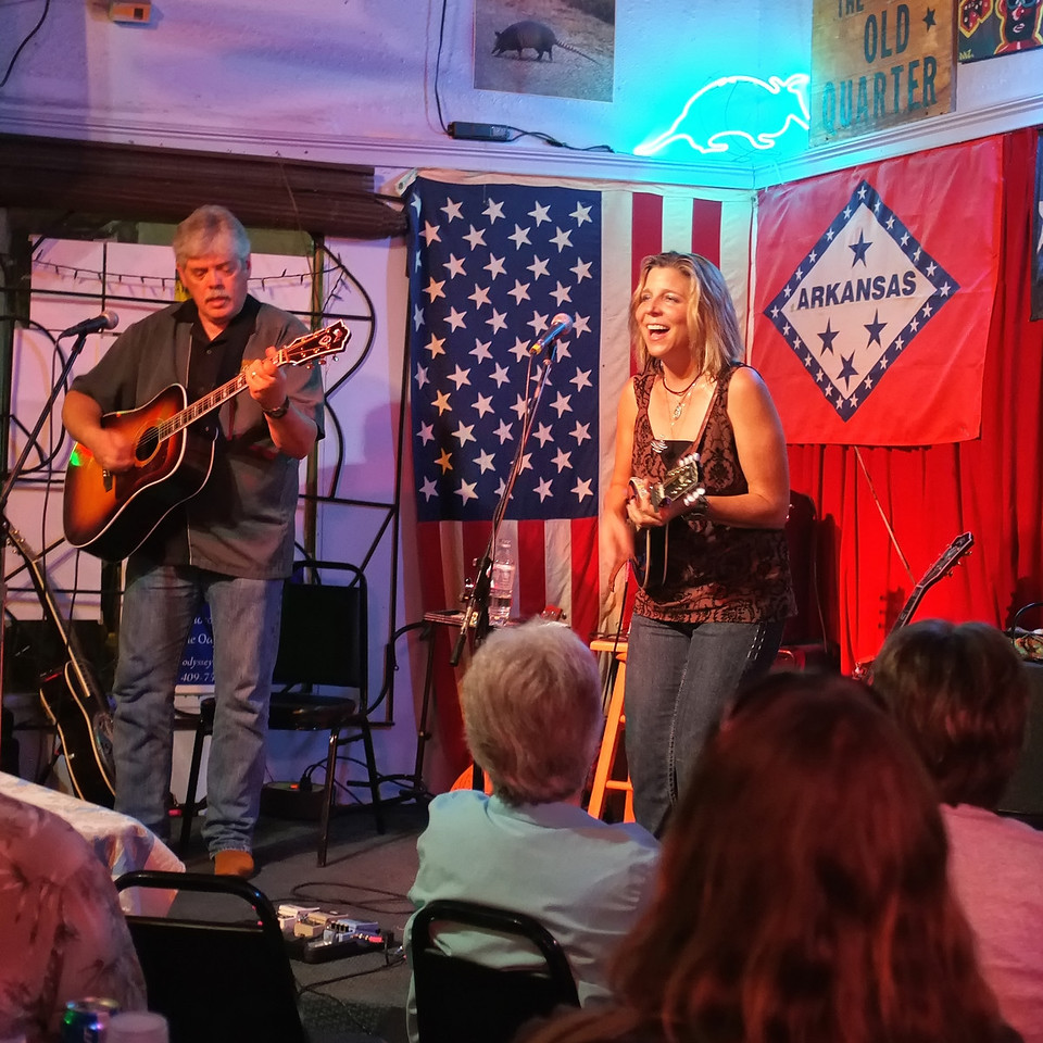 Lloyd Maines & Terri Hendrix, the Old Quarter, Galveston