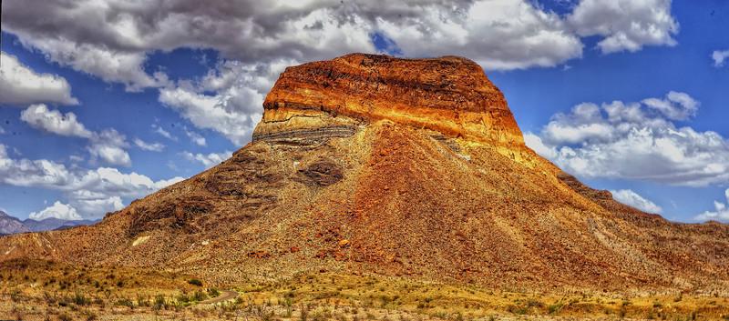 Cerro Castellan, Big Bend