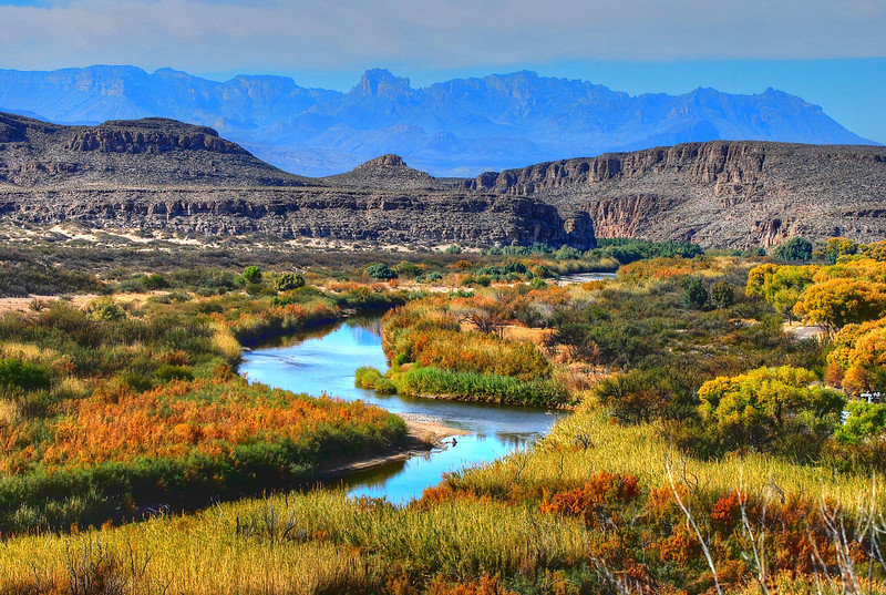 From the Rio Grande Village overlook