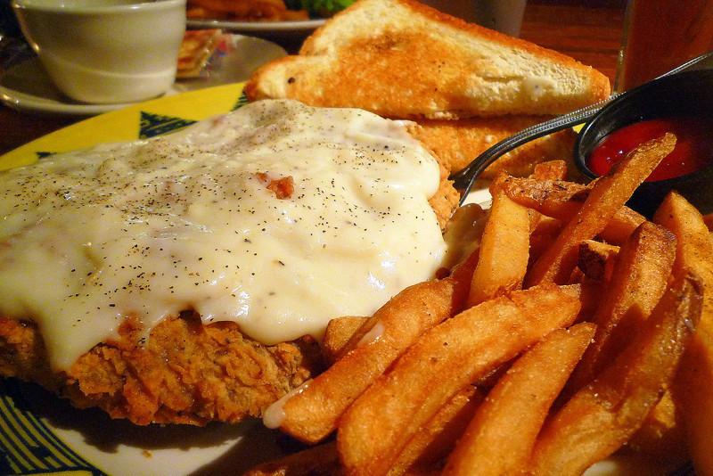 Chicken-fried Steak from Humperdink's, Dallas