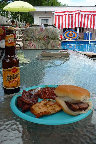 Memorial Day Barbecue, Texas style