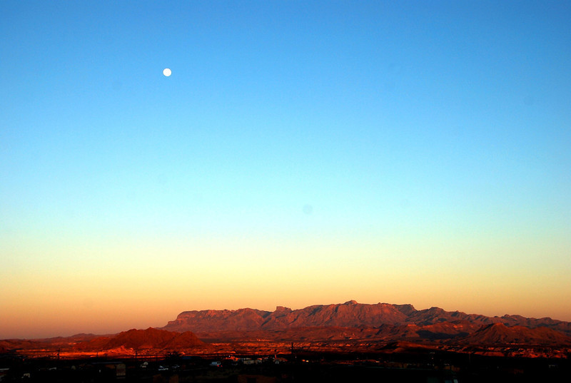Moonrise over Terlingua