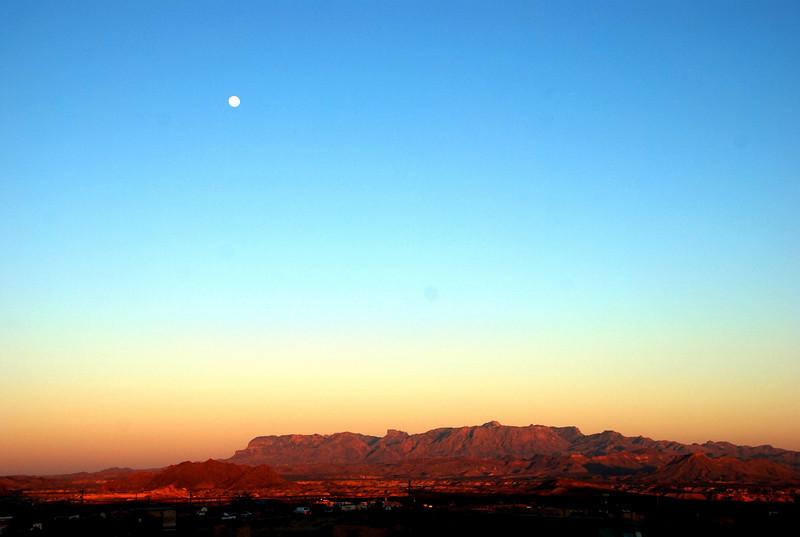 Moonrise over Terlingua