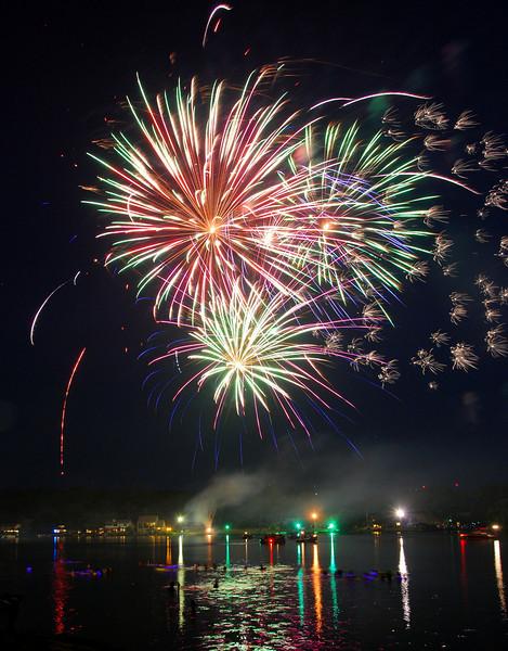 4th of July at Hideaway Lake