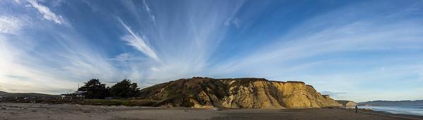 Drakes's Beach @ Pt. Reyes National Seashore Pano