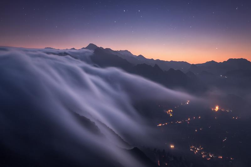 Fog Landscape Photography