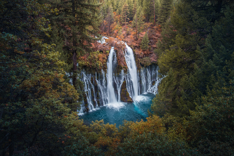 California Waterfall, Landscape Photography