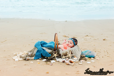 Baby-Mermaid-on-Beach