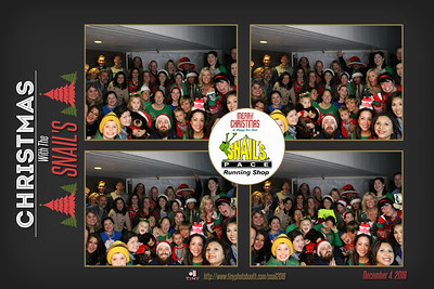 Snail's Pace Running Holiday Party 2016