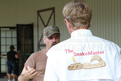 Mr. Steve M. Scruggs, The Snake Master  Mr. Steve M. Scruggs a Master on Snakes gives a class at The Bargain Barn in Jasper Ga. Photography By: Lloyd R. Kenney III, All Rights Reserved