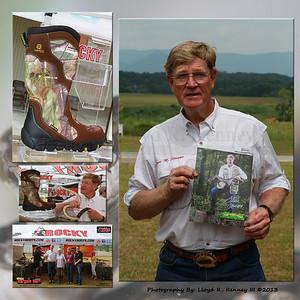 Mr. Steve M. Scruggs, The Snake Master