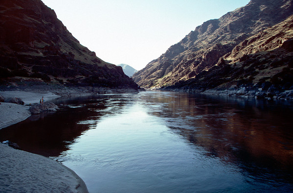 Snake River Rafting - July 1986