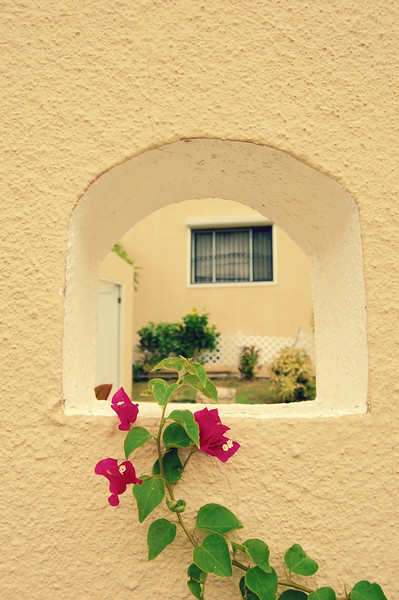 opening in a wall