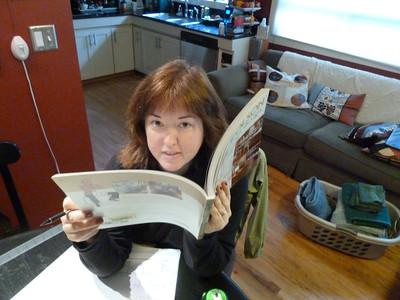 Erika reads Candace