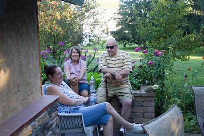 Kay Carlson,  Michelle and Neil Oppenheimer