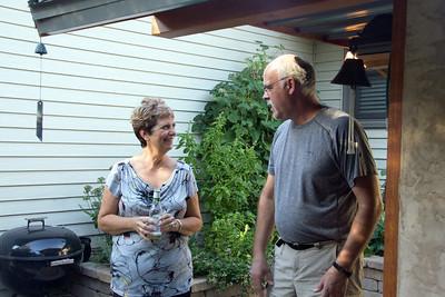 Chris Most and the chef, Doug Keyport