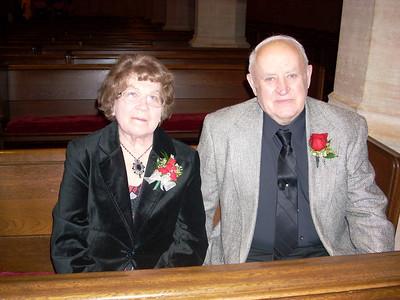 At Kari and Ben's wedding 1/11/08