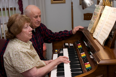 My Mom is a self taught organist.