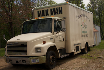 A Milk Truck -- Not sure if it is in use or not…Found it intriguing.  4.22.12