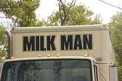 Here comes the Milk Man  4.22.12