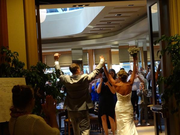 Snapshots of Carrie and Joe's wedding
