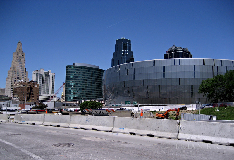 Sprint Center, downtown Kansas City. Finishing up for the big October 2007 open for...oh wait, we don't have any team yet...