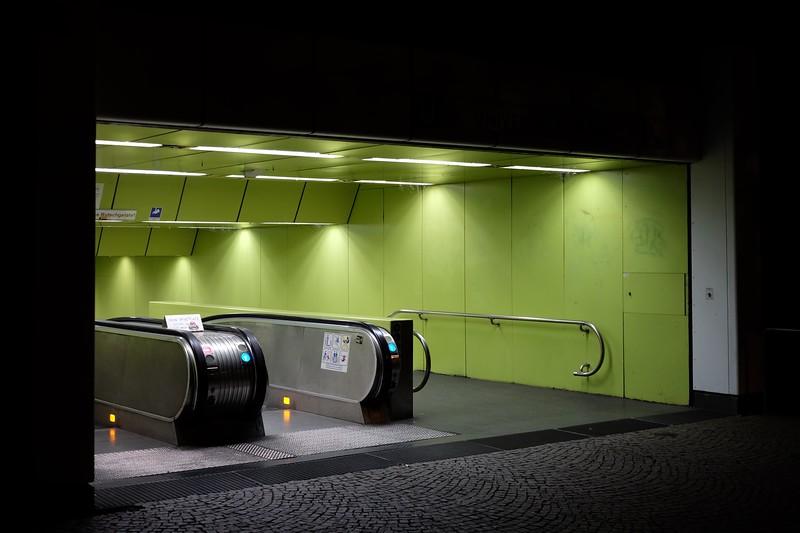 Eingang zu Bonner U-Bahn
