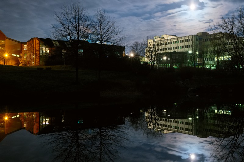 Abends am Uni-Teich 02