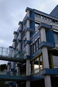 Übergang B-zu-C-Gebäude, Uni Trier