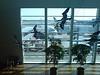 Stained glass birds, Copenhagen Airport