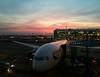 Sunset, Heathrow Terminal 5