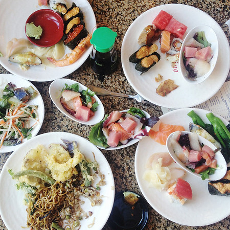 Makino Sushi Buffet — Irvine, California