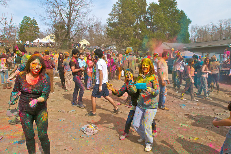 Holi at ISKCON of DC