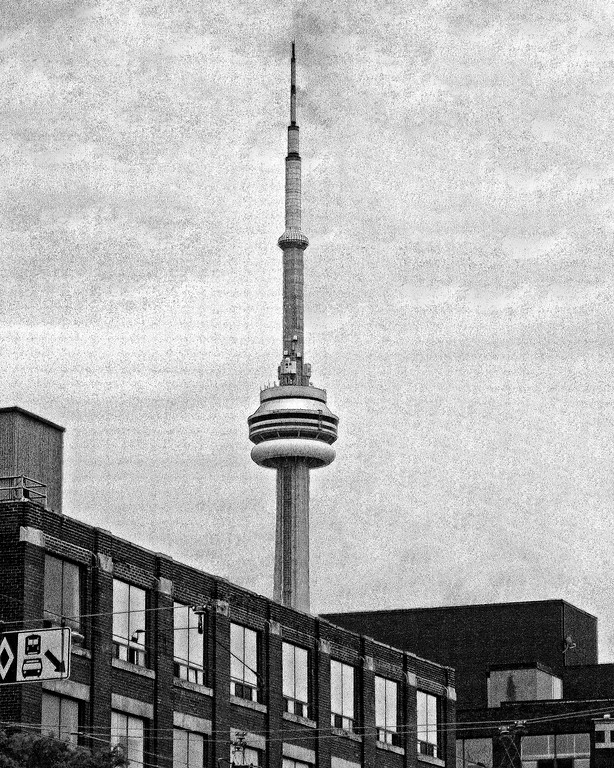 CN Tower Toronto Canada tallest free standing structure in Americas