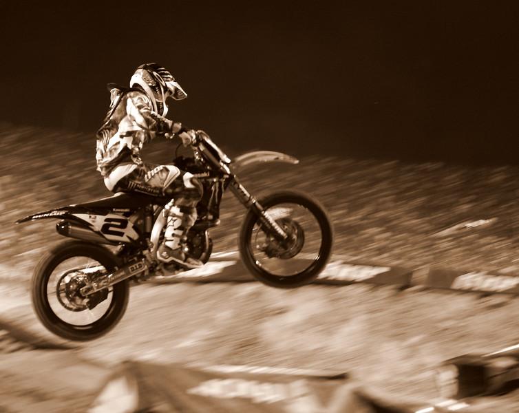 Ryan Villopoto Airborne AMA SX Championship Las Vegas